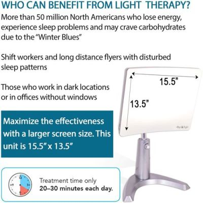 Carex Day Light Classic Plus Bright Light Therapy Lamp