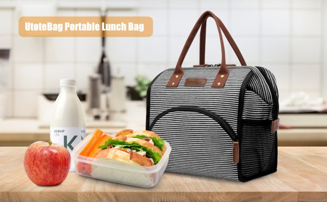 UtoteBag Lunch Bag Insulated Lunch Box