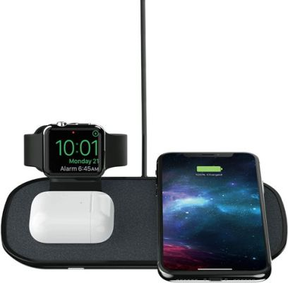 mophie 3 in 1 Wireless Charge Pad for apple