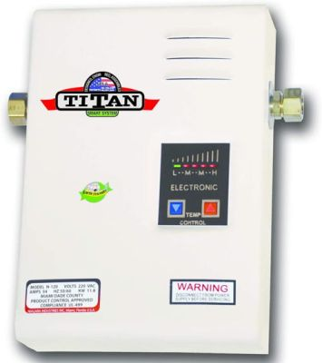 Titan SCR2 N 120 Electric Tankless Water Heater 220 Volts