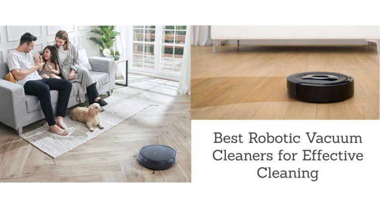 Best Robotic Vacuum Cleaners 1