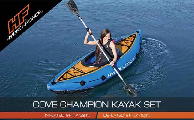 Bestway Hydro Force Cove Champion Inflatable Kayak Set