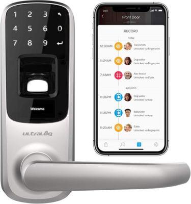 Ultraloq UL3 BT Bluetooth Enabled Fingerprint and Touchscreen Smart Lock 1
