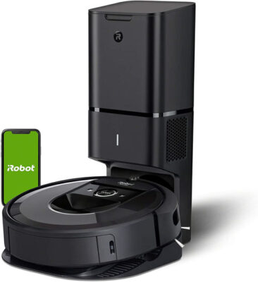 iRobot Roomba i7 Robot Vacuum with Automatic Dirt Disposal Empties