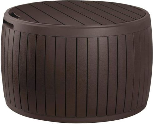 Keter Circa 37 Gallon Round Deck Box