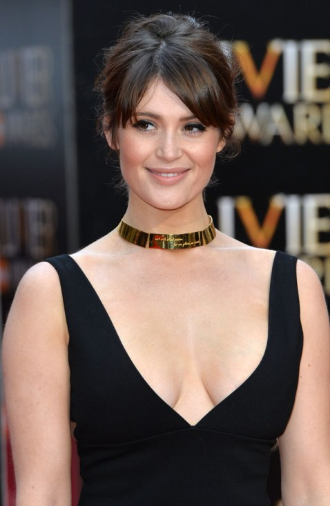LONDON, ENGLAND - APRIL 12: Gemma Arterton attends The Olivier Awards at The Royal Opera House on April 12, 2015 in London, England. (Photo by Anthony Harvey/Getty Images)