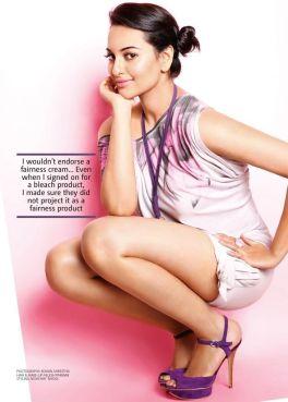 Sonakshi-Sinha-hot-All-innocent-in-a-lavender-dress
