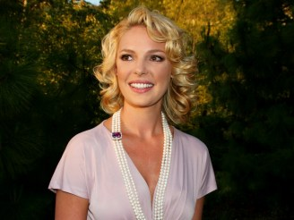 7th Annual Chrysalis Butterfly Ball, Private residence, Brentwood, California. Ref: SPL33606 010608 Picture by: Russ Einhorn / Splash News Pictured: Katherine Heigl Splash News and Pictures Los Angeles: 310-821-2666 New York: 212-619-2666 London: 870-934-2666 photodesk@splashnews.com
