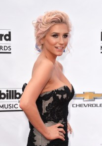 LAS VEGAS, NV - MAY 18: Singer Kesha attends the 2014 Billboard Music Awards at the MGM Grand Garden Arena on May 18, 2014 in Las Vegas, Nevada. (Photo by Frazer Harrison/Getty Images)