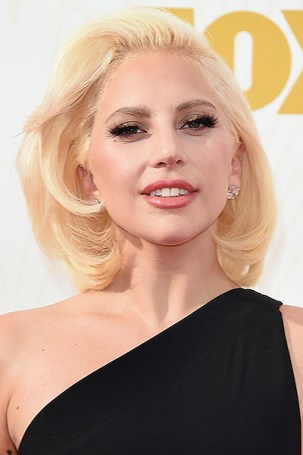 LOS ANGELES, CA - SEPTEMBER 20: Singer Lady Gaga attends the 67th Annual Primetime Emmy Awards at Microsoft Theater on September 20, 2015 in Los Angeles, California. (Photo by Jason Merritt/Getty Images)