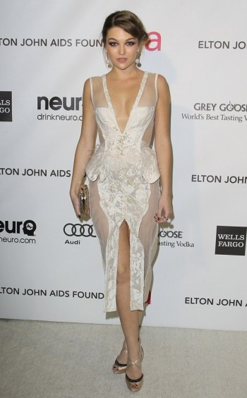 21st Annual Elton John AIDS Foundation's Oscar Viewing Party Featuring: Lili Simmons Where: Los Angeles, California, United States When: 25 Feb 2013 Credit: FayesVision/WENN.com