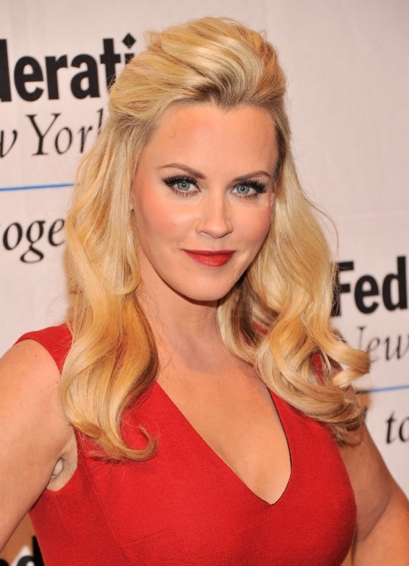 """FILE JULY 15: It was reported July 15, 2013 Jenny McCarthy will join """"The View"""" as co-host. NEW YORK, NY - MAY 28: Actress/model Jenny McCarthy attends The UJA-Federation Of New York Entertainment, Media And Communications Leadership Awards Dinner at Pier Sixty at Chelsea Piers on May 28, 2013 in New York City. (Photo by Stephen Lovekin/Getty Images)"""