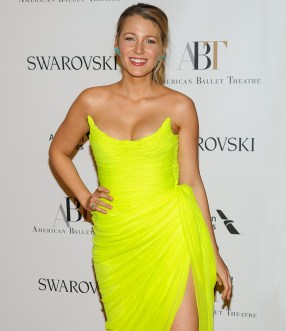 American Ballet Theater 2017 Spring Gala at the David Koch Theater Featuring: Blake Lively Where: New York, New York, United States When: 23 May 2017 Credit: WENN.com