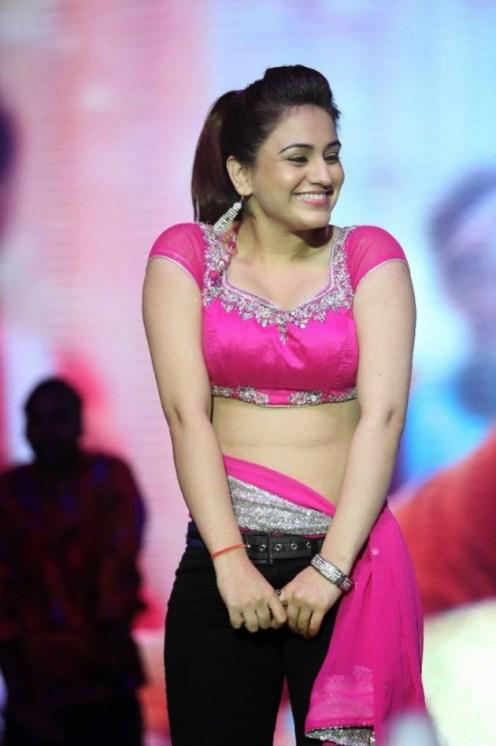 Actress Aksha Hot Dance Photos at Aadu Magadura Bujji Audio Launch CelebsNext 0025