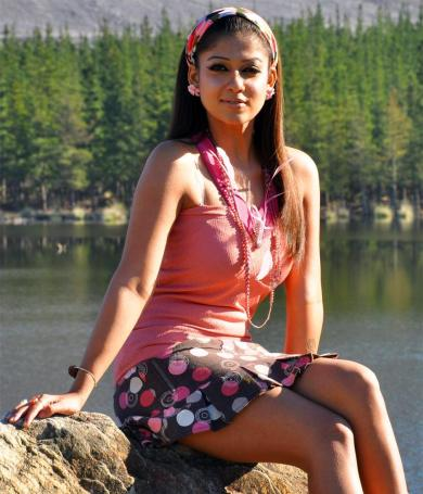 Stylish Nayantara in Skirt Stills