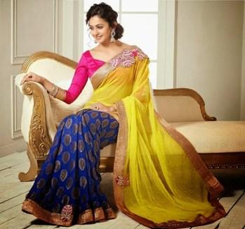 rakul preet singh in beautiful saree wallpapers 2