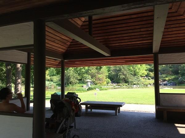 モントリオール植物園、日本式庭園