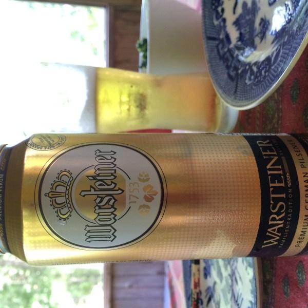 ドイツビールWarsteiner