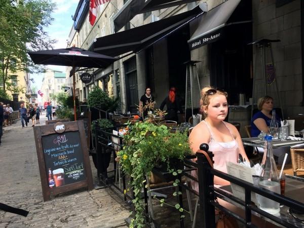ケベックシティのカフェ2