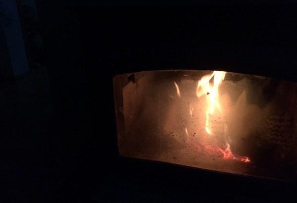 戸外はマイナス15度なのに停電…