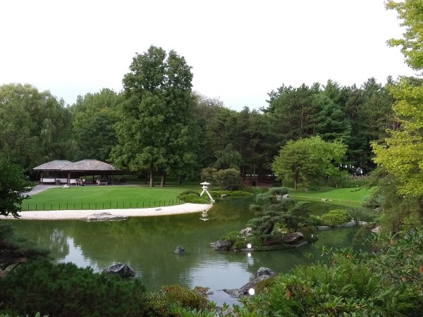モントリオール植物園の日本庭園