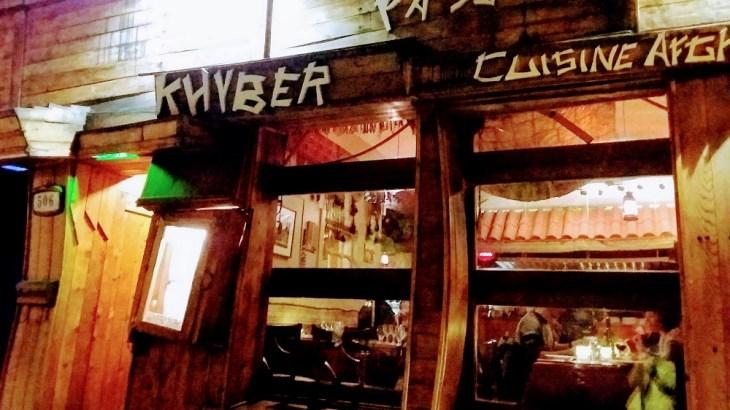 モントリオールのアフガニスタン料理レストランKhyber Passのレビュー