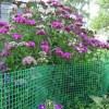 ограда для цветов, пластиковая ограда