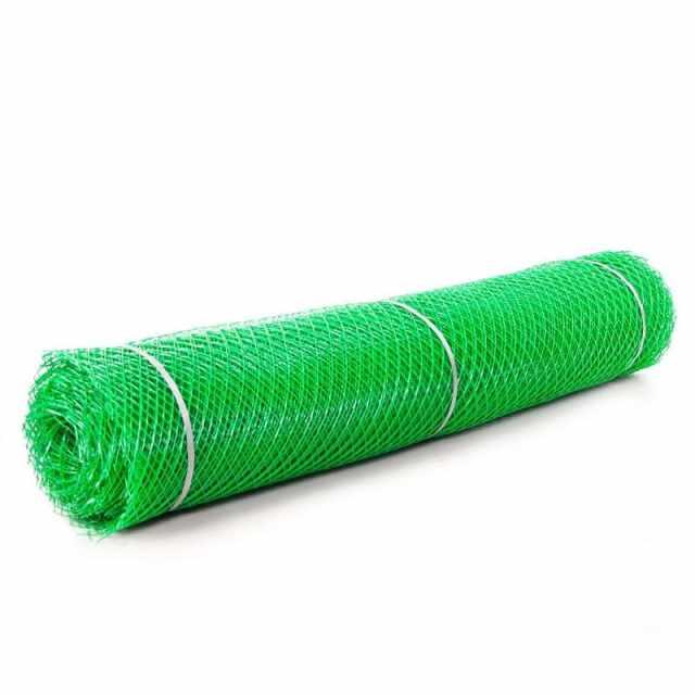 сетка пластиковая ромбическая