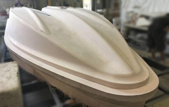 лодка из стеклопластика на заказ