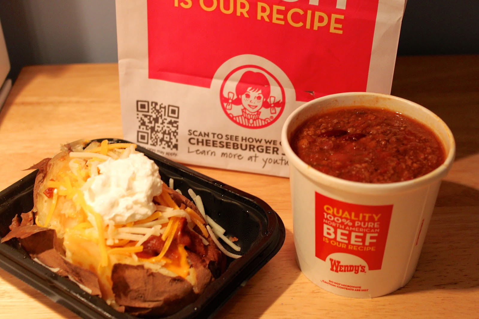 Wendy's Small Chili