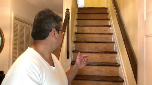 Refinishing A Staircase