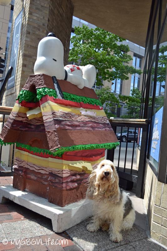 GBGV Sandwich Snoopy