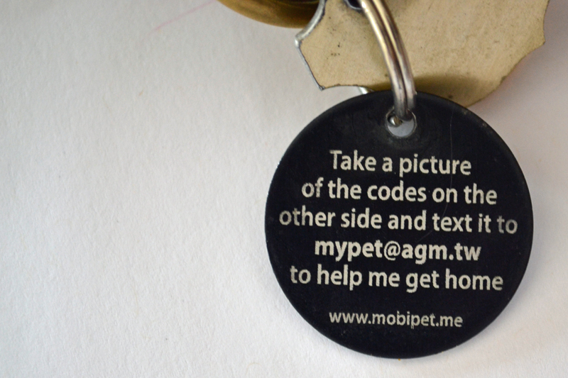 My GBGV Life #mobiPET tag return to owner message for lost pet