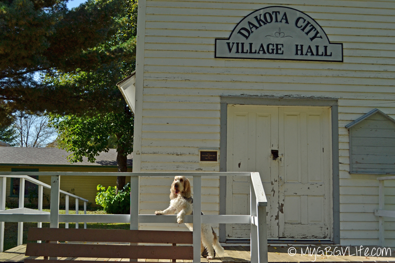 My GBGV Life at the village hall on the prairie