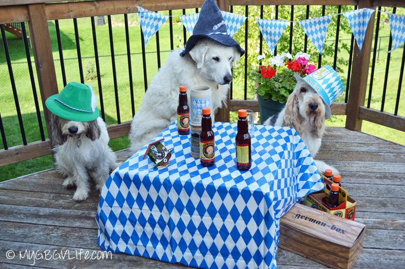 My GBGV Life Katie, Bailie, and I ready for Oktoberfest