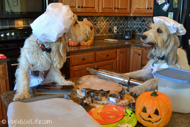 My GBGV Life Emma tells Bailie off while baking Halloween cookies