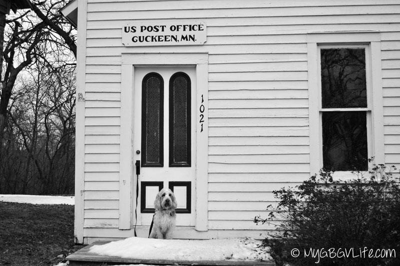 My GBGV Life history lane guckeen post office