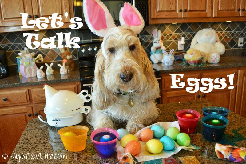 My GBGV Life let's talk Easter eggs