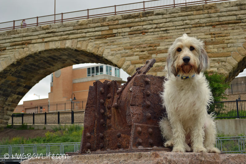 My GBGV Life at the Stone Arch Bridge in Mill Ruins Park