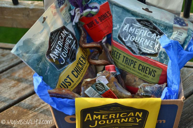 My GBGV Life #AmericanJourney box contents