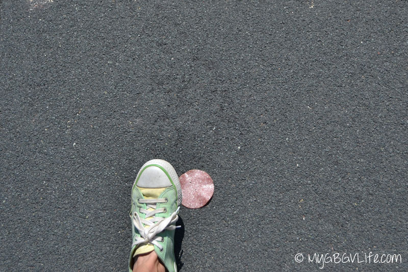 My GBGV Life position foot to cover the article