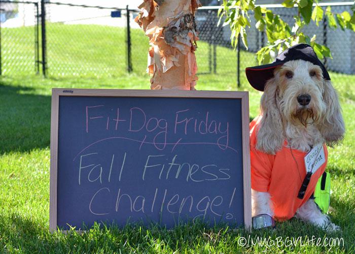 My GBGV Life FitDog Friday Fall Fitness Challenge