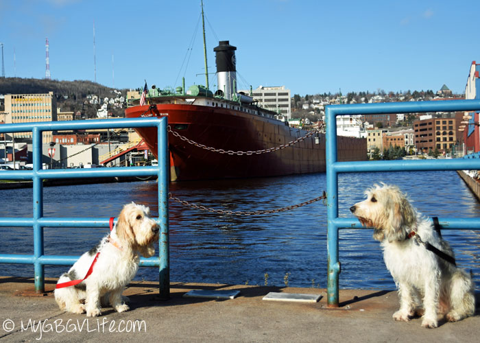 My GBGV Life boat museum in the background