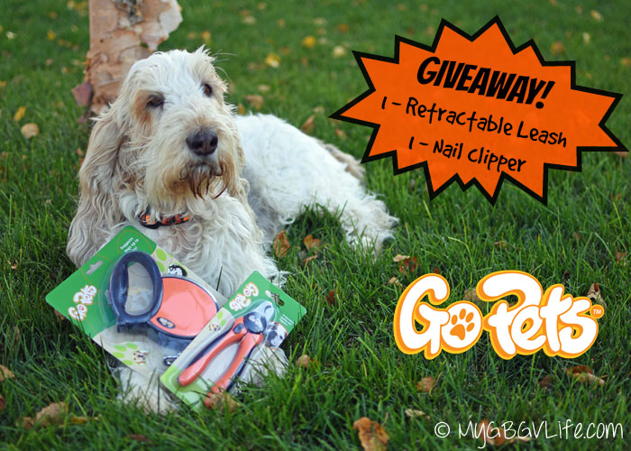 My GBGV Life GoPets Retractable Leash and Nail Clipper giveaway