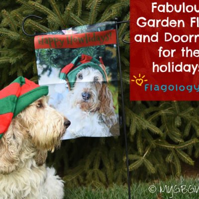 Fabulous Garden Flags And Doormats For The Holidays!