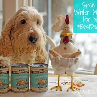 Spice Up Winter Mealtime For Your #BestDogEver