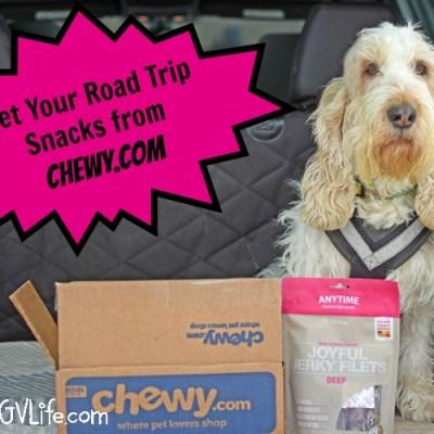 Tasty Road Trip Snacks From Chewy.com #ChewyInfluencer