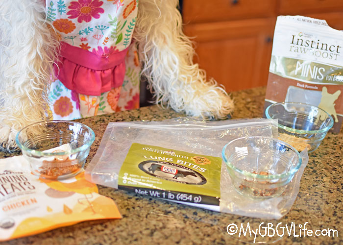 My GBGV Life Turn Dog Treat Crumbs Into Tasty Snacks