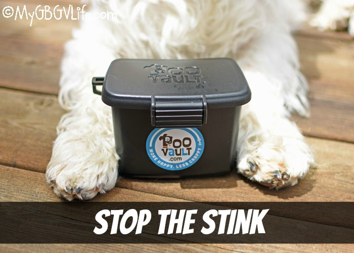 My GBGV Life Stop The Stink With Poo Vault!
