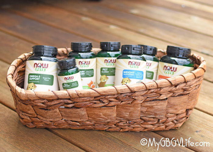 My GBGV Life What Are NOW® Pet Supplements - Review And Sweepstakes!